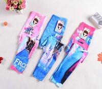 2015 NOVO congelados Leggings para meninas crianças princesa Elsa longas calças justas Calças Bebês Roupas Roupas Infantis 6pcs Preço Projeto Fábrica
