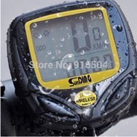 Wholesale Hot Sale Waterproof Wireless LCD Bicycle Computer Odometer Speedometer Cycling Stopwatch