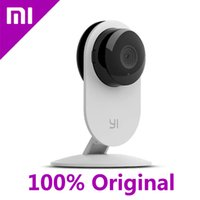 Wholesale 100 Original Xiaomi Yi Smart Camera Xiaoyi mi ants Smart Webcam IP Camera wifi wireless camaras cctv cam with Night Vision