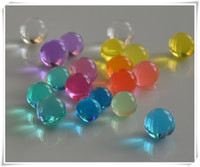 magic water beads - 100g Magic Ball Crystal Soils Water Beads Color Flower MudGel Ball for plant and wedding on sale
