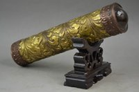 Wholesale Chinese Handwork Copper Carving Vivid Clouds See Beautiful World Kaleidoscope