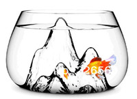 glass fish bowl - Piece Fish Bowl Glass Scape Fishscape Fish Bowl