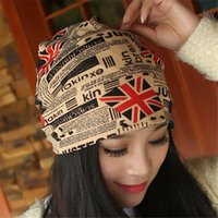 baggy hat pattern - Fashion Women Ladies Men Beanies Scarves Warm Hat Unisex Winter Hats UK Flag Pattern Reversible Skull Baggy Cap Scarf Muffler Kerchief