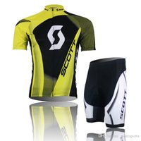 xxxxl size jersey - 2015 HOT SCOTT Team Bike Jersey Cycling Jersey Set Cycling Wear Clothing Bib Shorts Size XS XXXXL