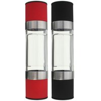Wholesale Hot sales ABS Manual Dual Grind In Salt Pepper Spice Mill Grinder Coarse To Fine Grain