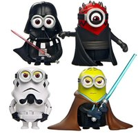 Wholesale God steal dads yellow cosplay Star Wars collector furnishing articles car decoration