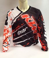 Wholesale New arrival ktm off road long sleeve T shirt perspicuousness ride breathable t shirt automobile race clothing t shirt