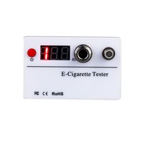 Wholesale E cigarette Ohm Reader Meter Resistance Voltage Tester Threaded for Atomizer Cigarette Accessories Resistance Meters