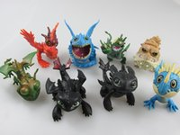 Wholesale 2015 How to Train Your Dragon2 PVC Action Figures Toy Doll NightFury Toothless Dragon A