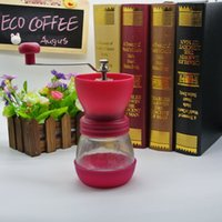 Wholesale New Arrival Coffee grinder Coffee Accessories Four Colors for choosing manual coffee grinder