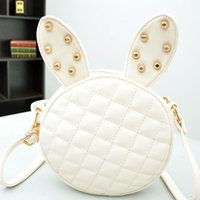 Hangbags big black rabbit - 2014 New Arrival mini bag The rabbit mini bag Fashion Leisure mini bag For Big mini bag Z0426