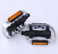 Wholesale Mountain bike bicycle bike pedals Half aluminum Black color Suitable mountain bikes and road bikes Fixed Gear Bikes universal ball