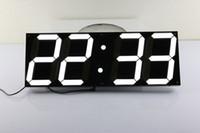 Wholesale Jumbo Led Clock Big Digital Countdown Timer Wall Clock Indoor Auto Brightness Control Wall Clock Oversized Calendar Electronic Clock