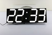 Wholesale Jumbo Led Clock Big Font Countdown Timer Wall Clock Indoor Auto Brightness Control Wall Clock Oversized Calendar Electronic Clock