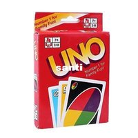 Wholesale Fashion Hot Standard Fun UNO Playing Cards Game For Travel Family Friend Instruction