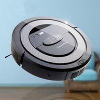 Wholesale QQ5 Robot Vacuum Cleaner Cleanmate Sweep the floor machine black