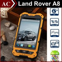 Wholesale Rugged A8 Waterproof Smartphone quot IPS G MTK6572 Dual Core GHz Android MB RAM GB ROM Dual SIM Gorilla Glass IP68 Unlock Phone