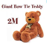 valentine bear plush bear stuffed bear - 2015 New arrival cm giant teddy bear stuffed toy soft plush toy valentine s gift for girls birthday gift toys for children