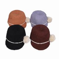 golf towel - Fashion Vintage Women Towel Yarn Caps Casual Travel Soft Warm Stingy Brim Hats Colors Choose EJW