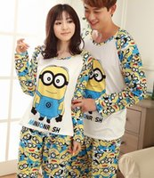 animal print underwear for men - cute underwear for women MEN Despicable Me minion clothes LOVER winter cartoon pajamas for adults cute girls womens pajamas set