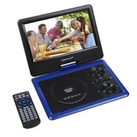 avi video dvd - DBPOWER Portable inch High Resolution Color TFT LCD Screen Clear Picture and Video DVD EVD Player Support MP4 AVI RMVB MP3