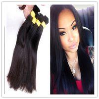 Wholesale Top Quality Unprocessed Brazilian Hair Bulk Soft Natural Color Human Hair Bulk price