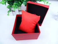 watch boxes wholesale - Elegant pure color watch box fashionable box case for watch RB08