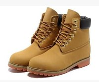 work boots for men - new style men and women high quality timberlis boots for men genuine leather landing shoes