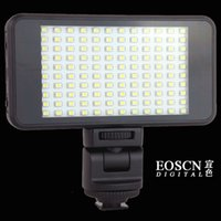 Wholesale 120 LED Video Light Lamp Kit K K color filter LM for Canon Nikon Pentax DSLR Camera Video Camcorder