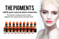 Wholesale Lushcolor pigment permanent makeup ink tattoo eyebrow pigments ml bottle