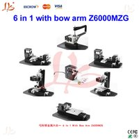Wholesale New design product in with bow arm Z6000MZG mini metal lathe for cultivate innovation of children