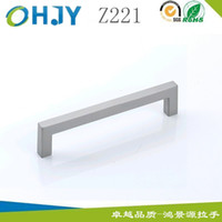 Wholesale Manufacturers supply Hong Jingyuan cabinet handle zinc alloy handle holes dumb stainless HJY Z221