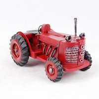 american tractors - hot sell classic car model car model metal iron American tractor Creative Decoration Gifts