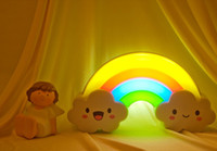 bathroom light fittings - Cute Lnduction LED Rainbow Lamp Night Light Sensor Lights Fit For Corridor Bedroom Bathroom Living Room Etc