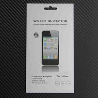 Wholesale 500sets inch LCD Transparent Mobile Phone Screen Guard Film For iphone Plus s Plus PET Crystal Clear Screen Protector