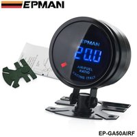 air fuel ratio gauge - TANSKY New Epman Racing mm Smoked Super Black Digital AFR Air Fuel Ratio Gauge EP GA50AIRF Have in stock