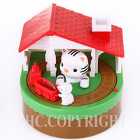best coin banks - Cat Catching Mouse Itazura Money Save Box Coin Bank Super Cute Male Money Automated Saving Box with Music Best Gift for Children