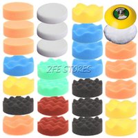 Wholesale 28Pc mm inch High gross Polishing Pad Buff Pad Kit For Car Polisher