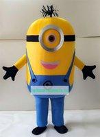 All'ingrosso-Despicable Me <b>Minion costume</b> della mascotte per adulti Costume Mascot
