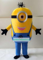 Wholesale Despicable Me Minion Mascot Costume For Adults Mascot Costume