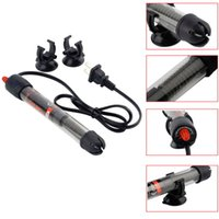 Wholesale 50w w w w Submersible Heater Heating Rod for Aquarium Glass Fish Tank Temperature Adjustment NOMOYPET Good Quality