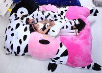 Wholesale Fancytrader cm X cm New Huge Lovely Milk Cow Double Bed Carpet Tatami Mattess Sofa FT50332