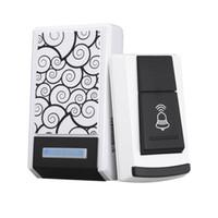 Wholesale Brand New Tunes Waterproof Wireless Remote Control Doorbell Home Receiver Wireless Doorbell Camera