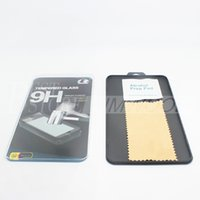 plastic screen - Crystal Box For Tempered Glass Screen Protectors Plastic Case With Microfiber Cloth and Alcohol prep pad