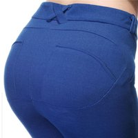 Wholesale Pencil Pants New Arrival Women s Sexy Lift The Hips Skinny Pants Trousers Stretch Leggings Fitness Yoga Pants DHL free