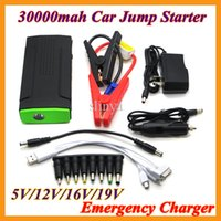 Wholesale 30000mah Multi function V Car Jump Starter Car Battery Charger Kit V V V Power Bank For Phone Tablet Laptop