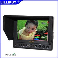 Wholesale Lilliput s2 quot IPS G SDI Monitor With HDMI Input High resolution Vectorscope Waveform Audio level meter Peaking Filter