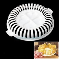Wholesale New Arrival DIY Microwave Oven Baked Potato Chips Homemade Maker Machine Device w Slicer amp Plate