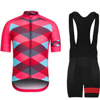 Wholesale Cycling jersey new RAPHA red clothing Outdoor Sport Cycling Jersey BIB Short Quick dry breathable clothes