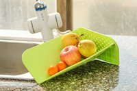cutting board - Cutting Board Plus Colander in Chopping Board with Integrated Strainer colors Thanksgiving Gift for Her new